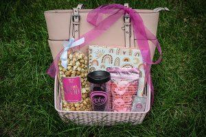 VPFW Breast Cancer Awarness Month Pink Purse Gift Basket